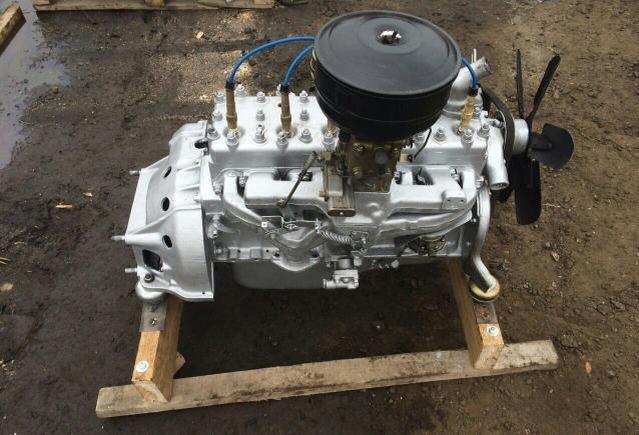 ГАЗ-52 Двигатель
