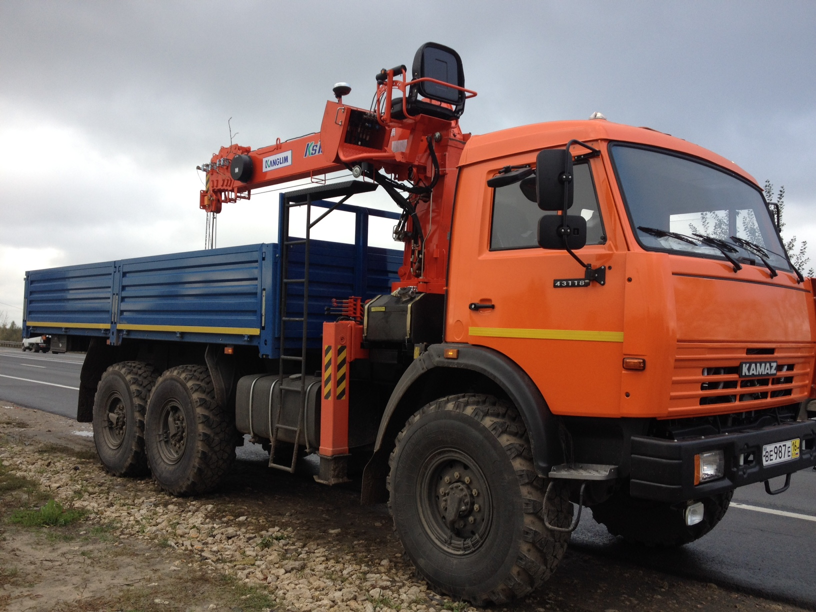 КамАЗ-43118 Кран