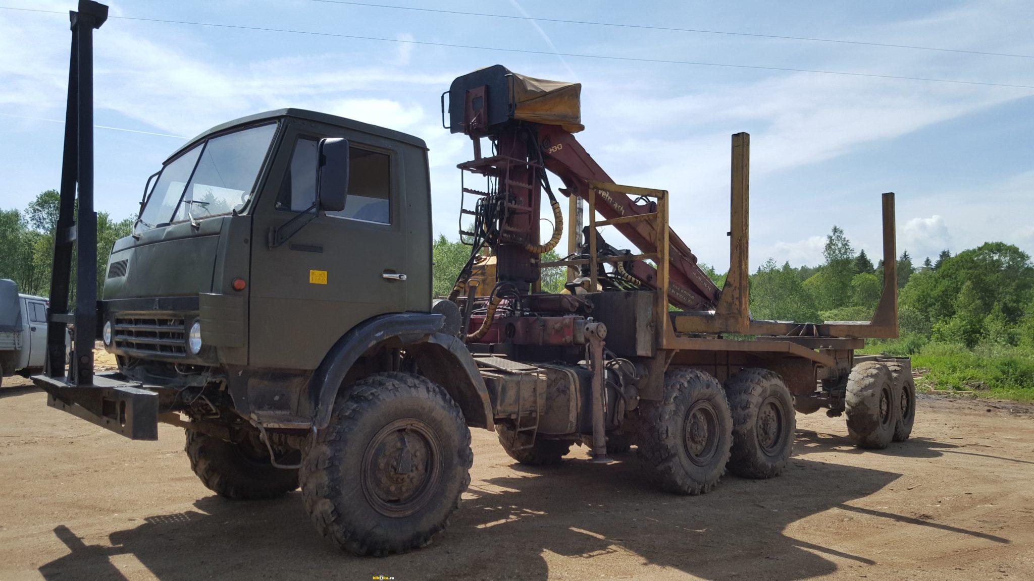 Модель КамАЗ 4310 лесовоз