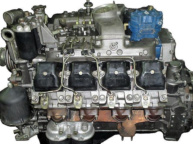 Урал 4320 Двигатель