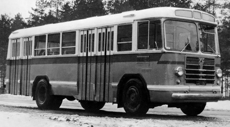 На фото: ЛиАЗ-Э676 Опытный ЛиАЗ 677, автобуз, лиаз