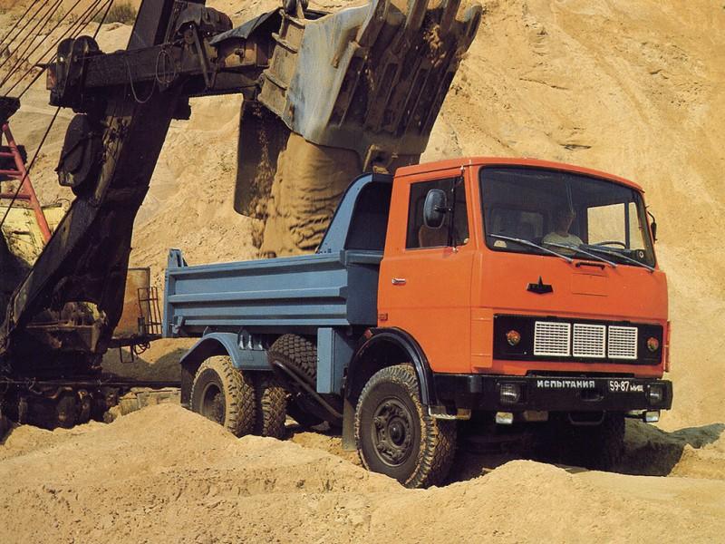 МАЗ-5551 1987 года