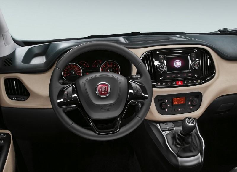 Fiat Doblo интерьер