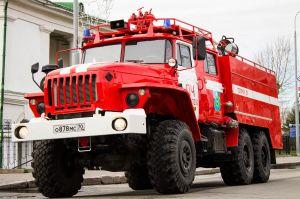 Пожарная машина Урал-5557