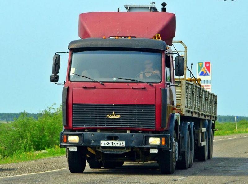МАЗ-6422 грузовик