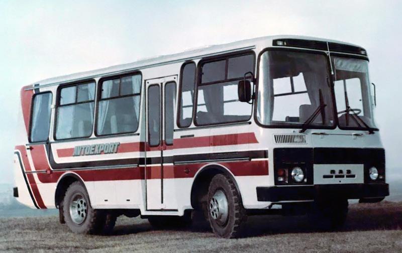 ПАЗ 3205 люксовый '1989