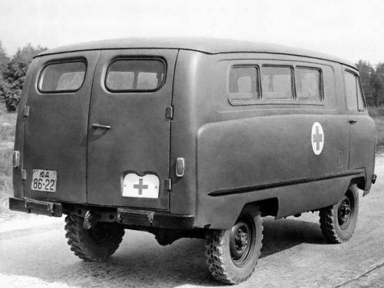 Цельнометаллический фургон на базе ГАЗ 69