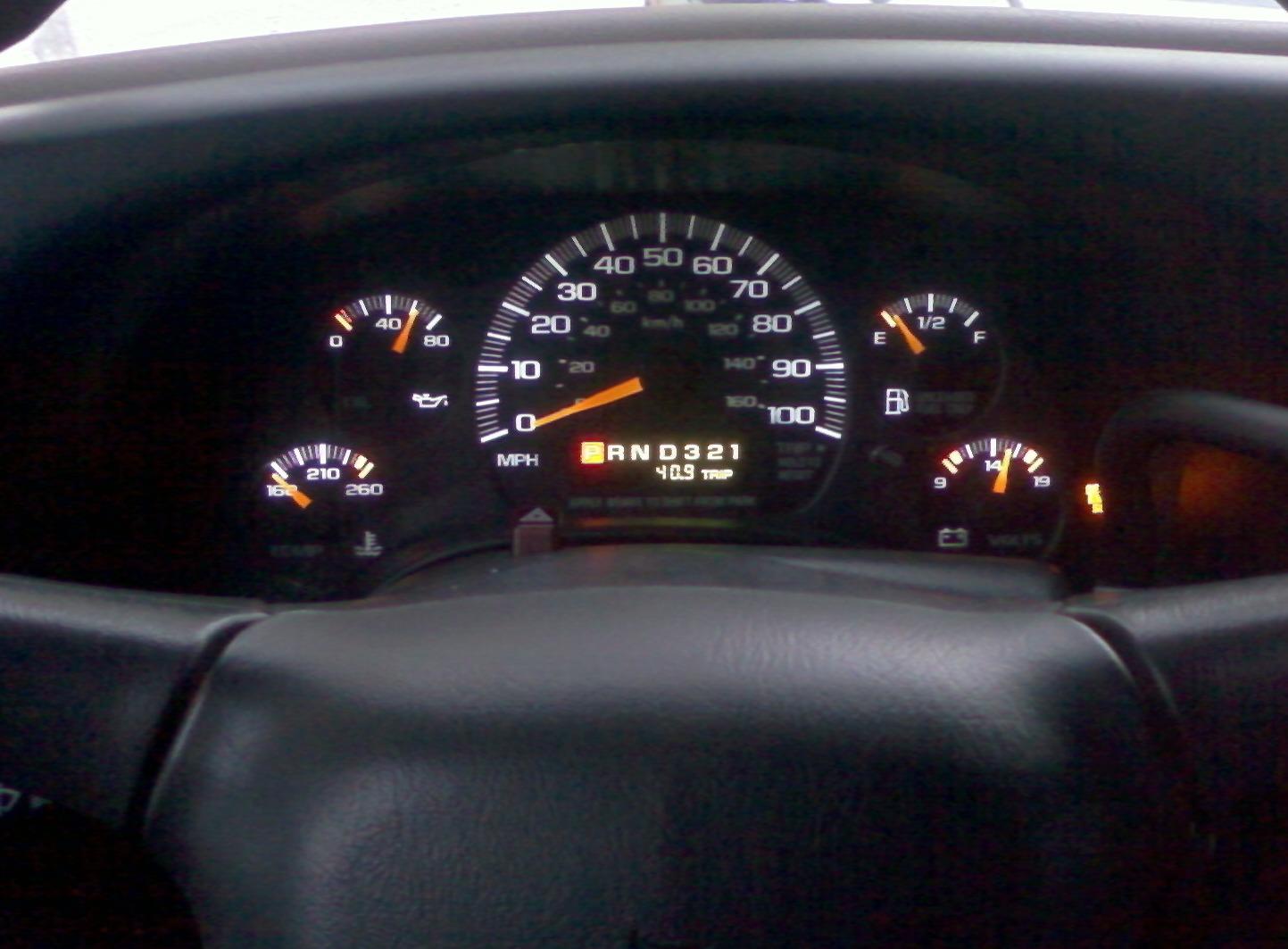Chevrolet Express датчики