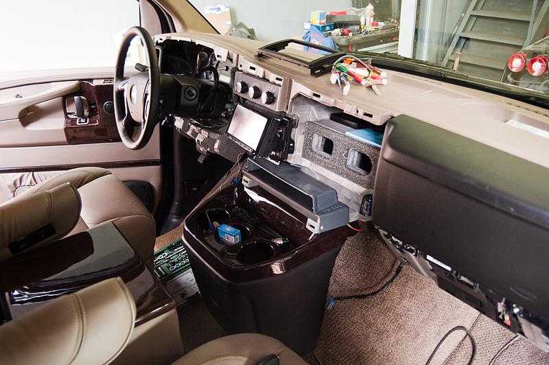 Chevrolet Express панель