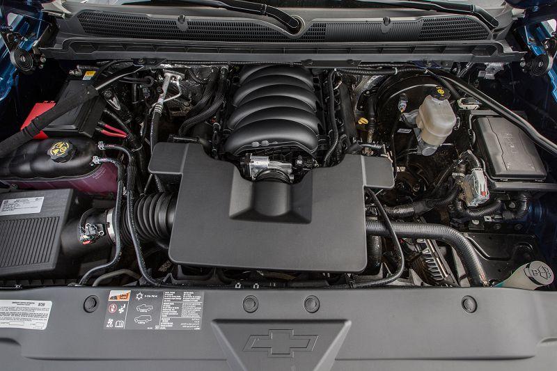 Двигатель Chevrolet Silverado 2019