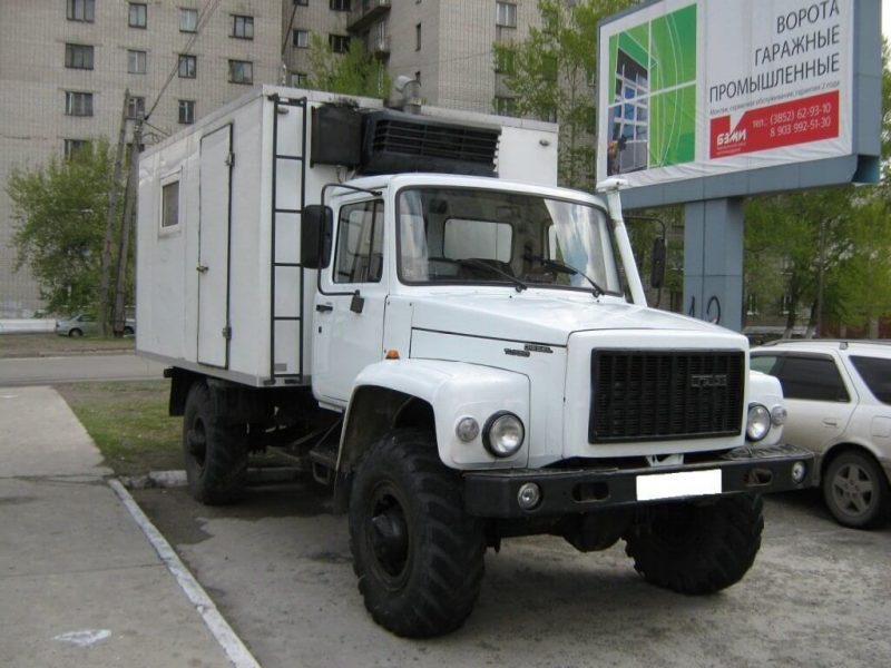 Фото ГАЗ-33088