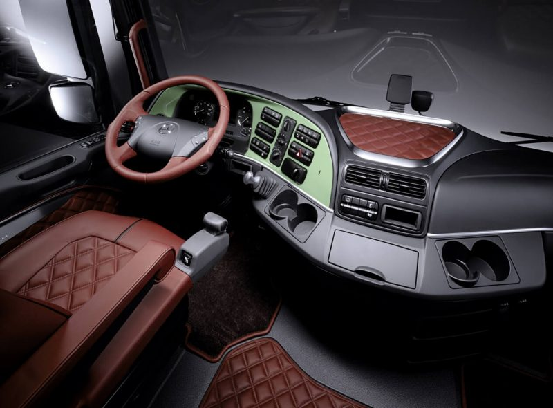 Салон Mercedes-Benz Actros