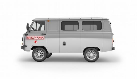 Полноприводный многоцелевой микроавтобус