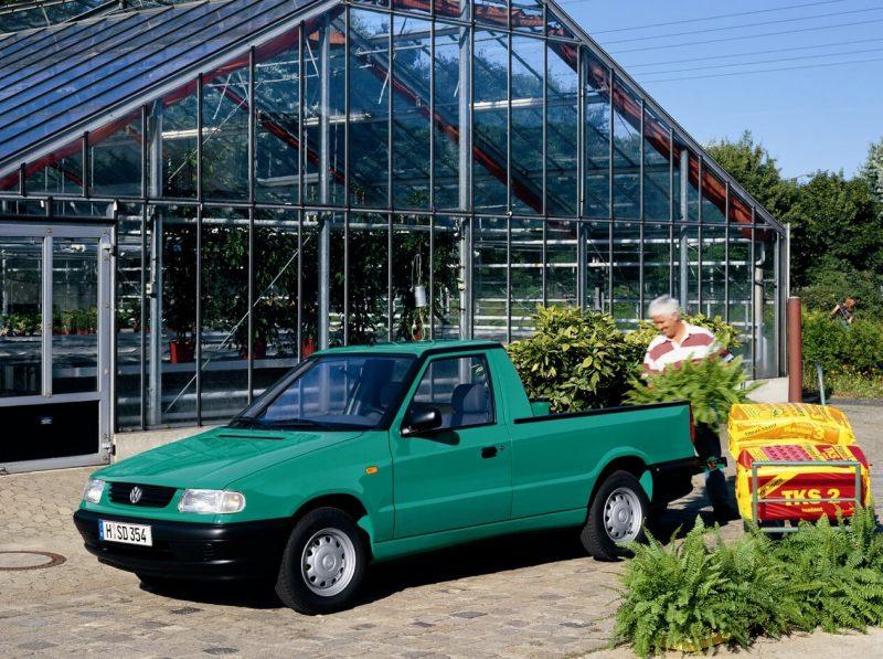 Volkswagen Caddy II пикап