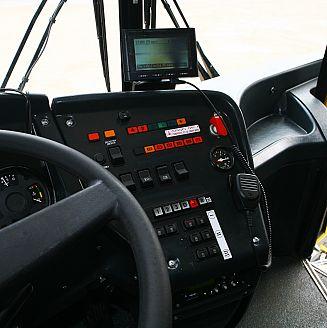 Бортовая панель ЛиАЗ-5256
