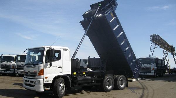Модификация FM / 26 тонн (трёхосный самосвал)