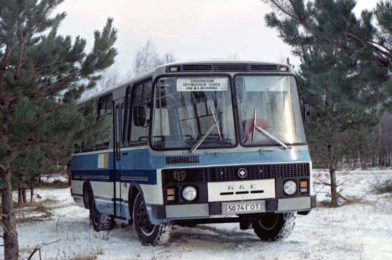 предсерийный ПАЗ-3205