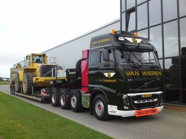 Трансмиссия и мосты «Volvo FH16-01»