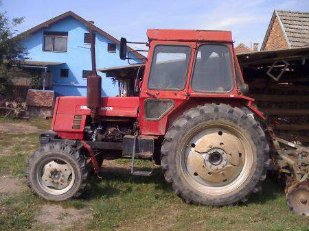 трактор ЛТЗ-55