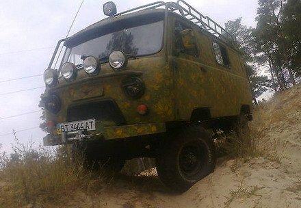 УАЗ 452 тюнинг