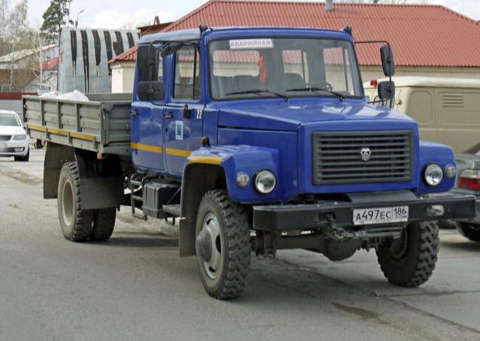 ГАЗ 33086 Земляк технические характеристики