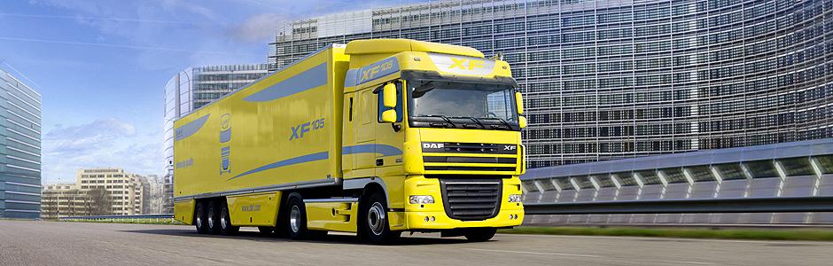 DAF XF105 расход топлива