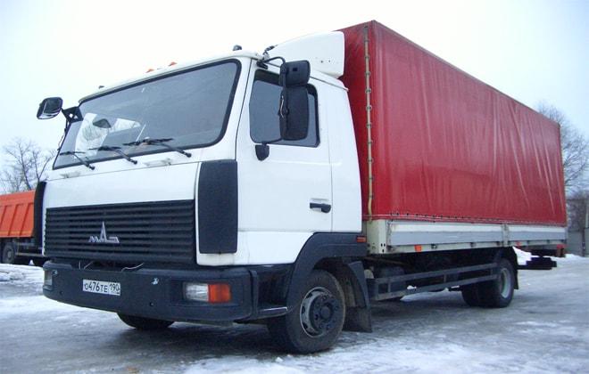 Для перевозки среднетоннажных грузов