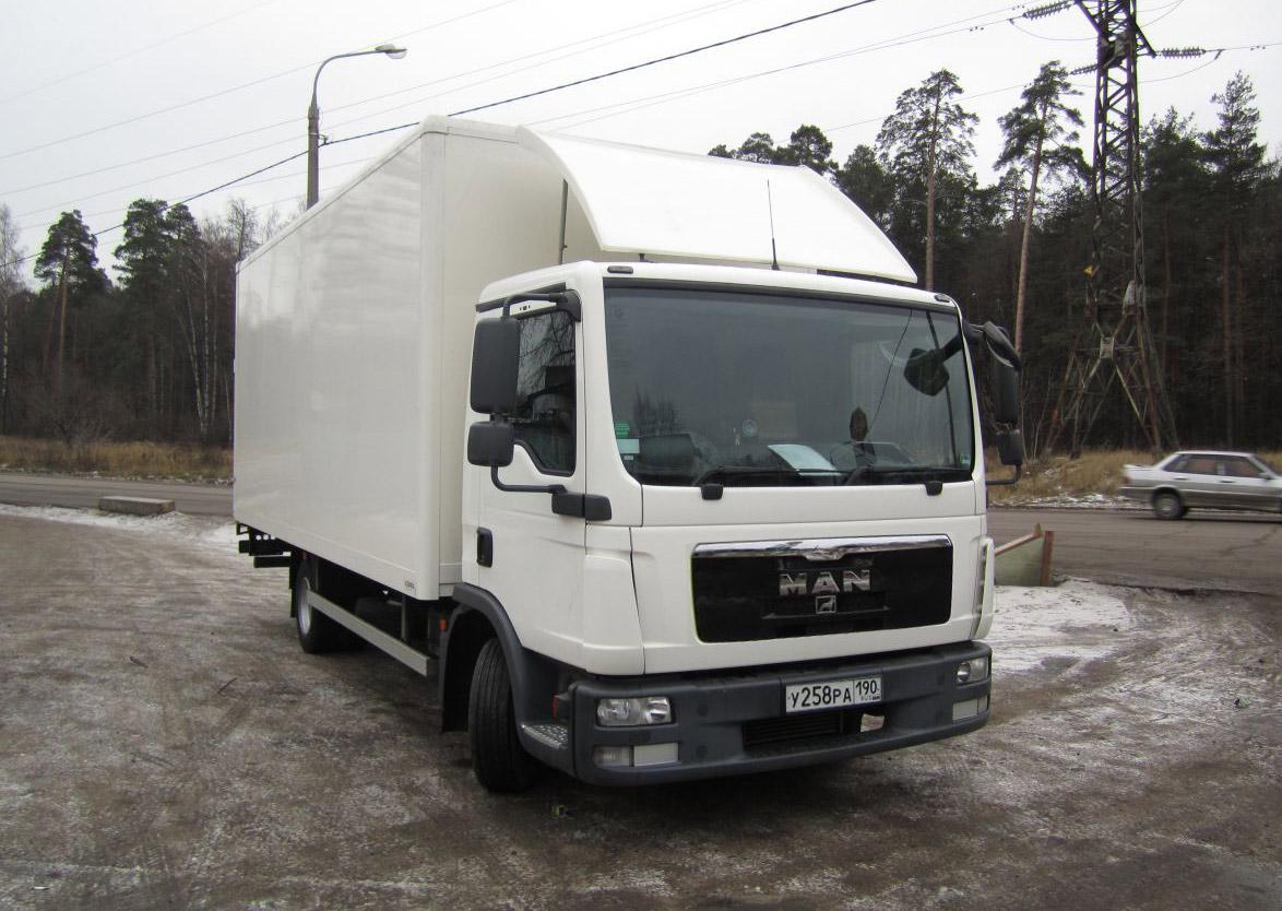 Фургон MAN 8.180