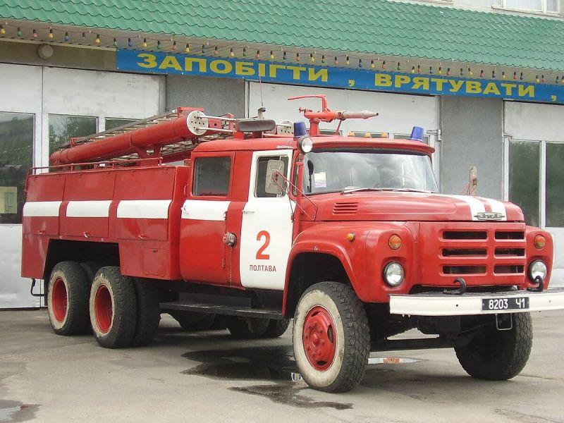 Пожарка ЗИЛ-133