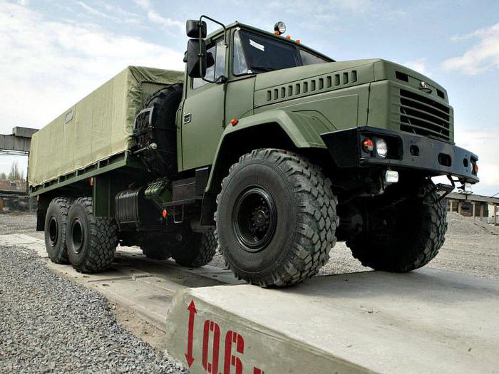 Автомобиль КрАЗ-6322