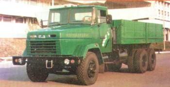 KRAZ250truck