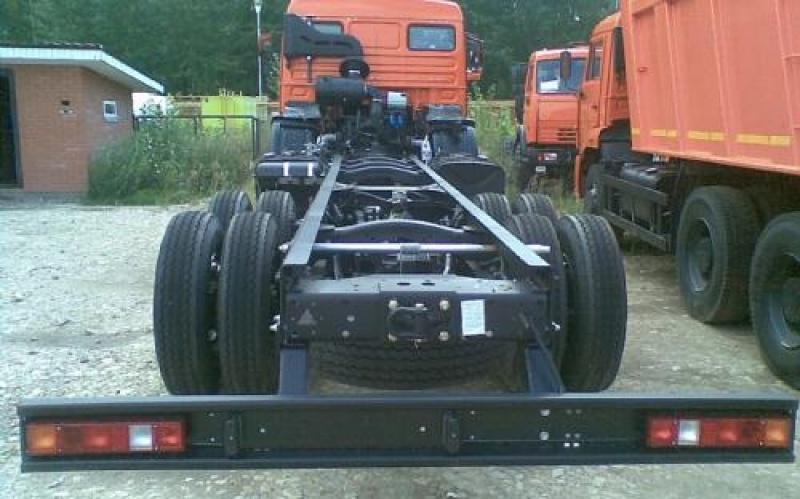 КамАЗ-53228 - вид сзади