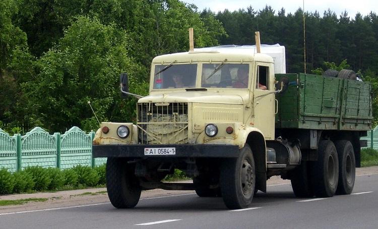 Автомобиль КрАЗ