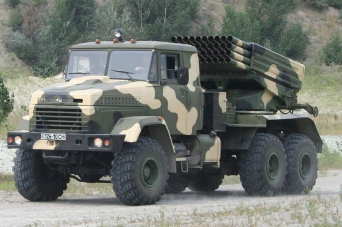 КрАЗ-6322 система Град