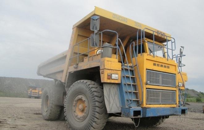 БелАЗ-7555 технические характеристики и устройство, двигатель и расход топлива
