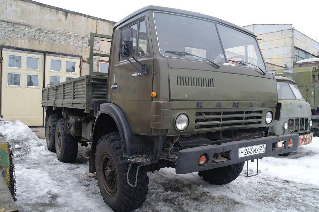 КамАЗ-43101 технические характеристики и размеры, двигатель и расход топлива