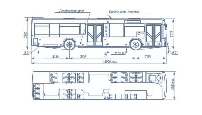 Габаритные размеры маз 203, автобус маз 203 габаритные размеры