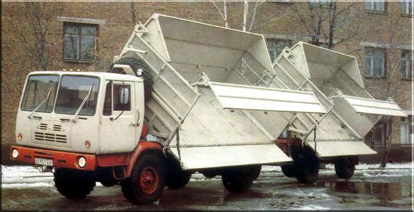 Сфера применения «КАЗ-4540»