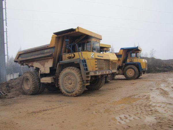 Трансмиссия «БелАЗ-7547», рулевое и тормозное управление