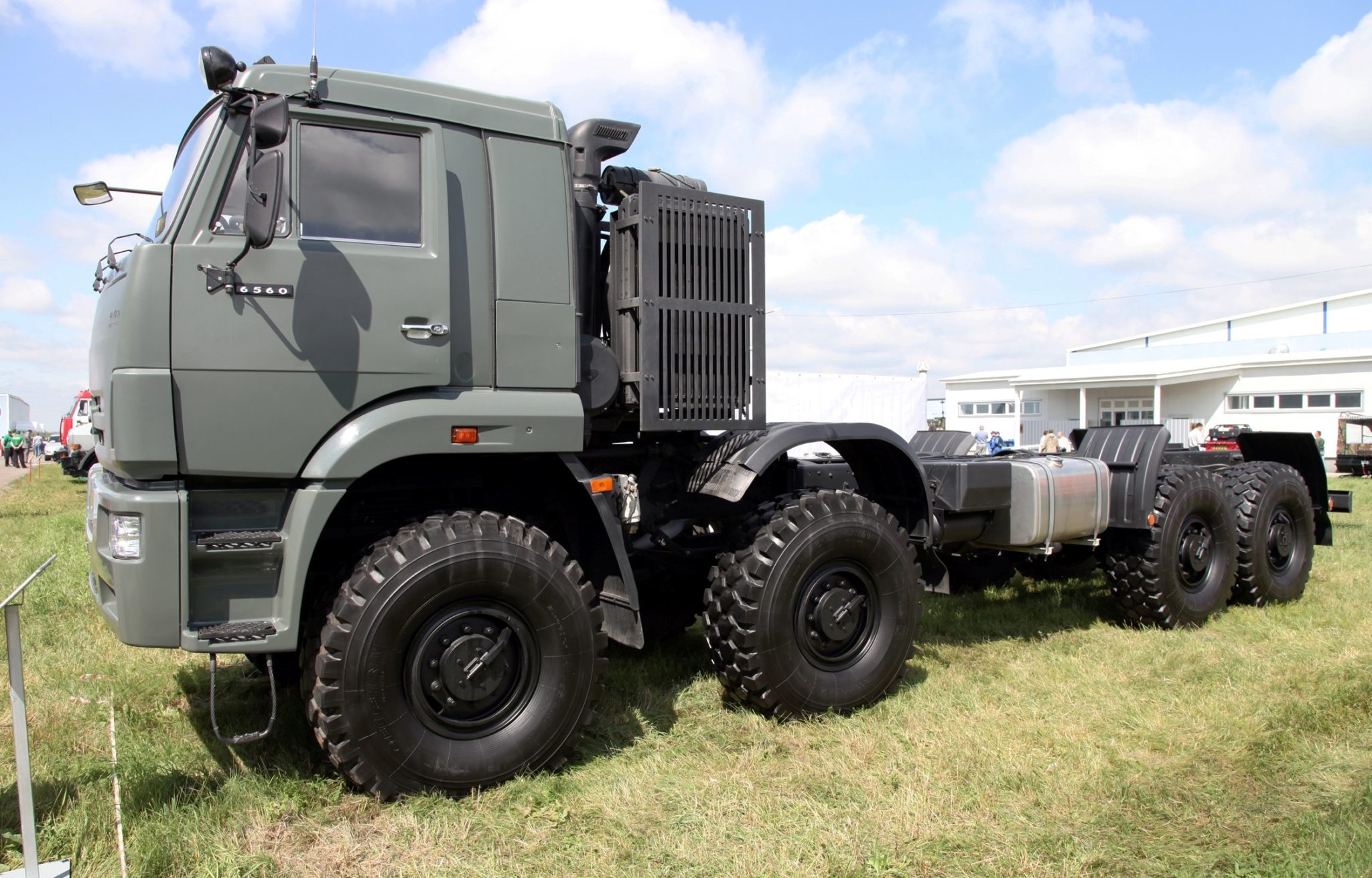 КамАЗ-6350 без надстроек
