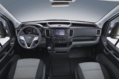 Салон корейского фургона Hyundai H350