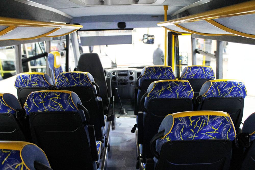 пассажирские места в школьном автобусе