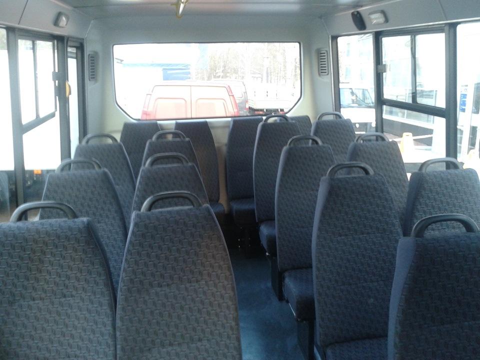 пассажирский автобус газель next - салон автбуса, пассажирские сиденья