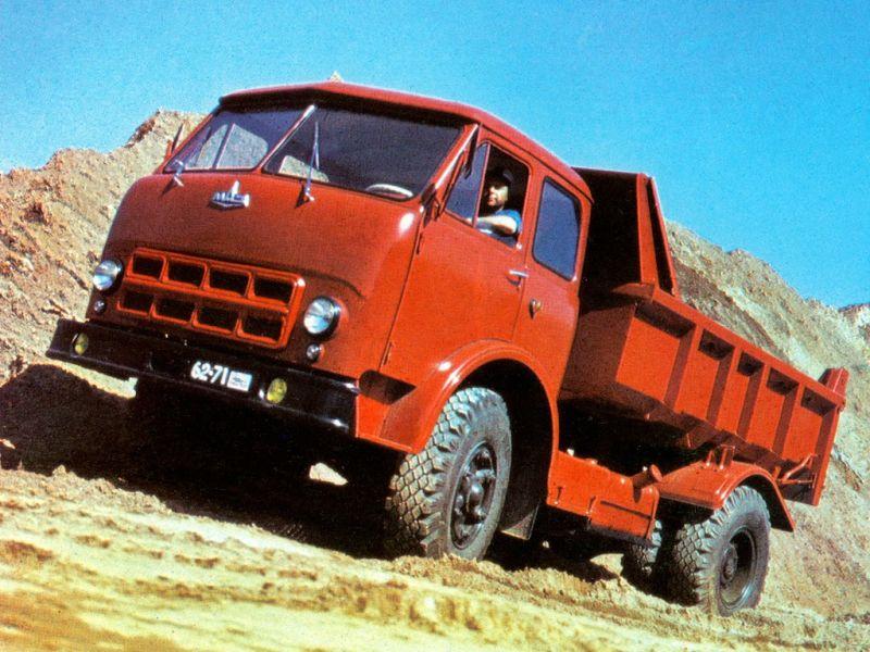 МАЗ-503А фото