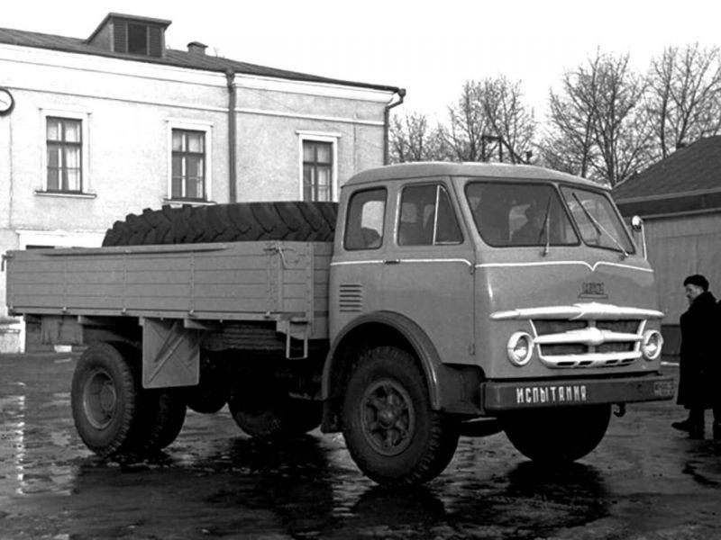 Бортовой МАЗ-503