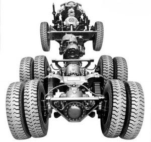 рама автомобиля Татра 148