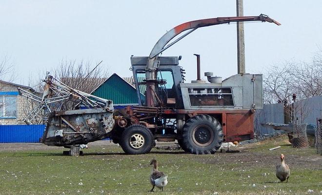 Комбайн для уборки кормовых